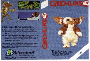 Gremlin Adventure box cover