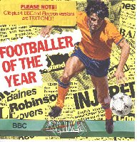 Footballer Of The Year box cover