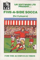 Fiva-a-Side Socca / Star Soccer box cover