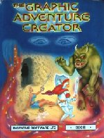 Graphics Adventure Game Creator box cover