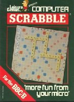 Scrabble box cover