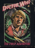Dr Who: The First Adventure box cover